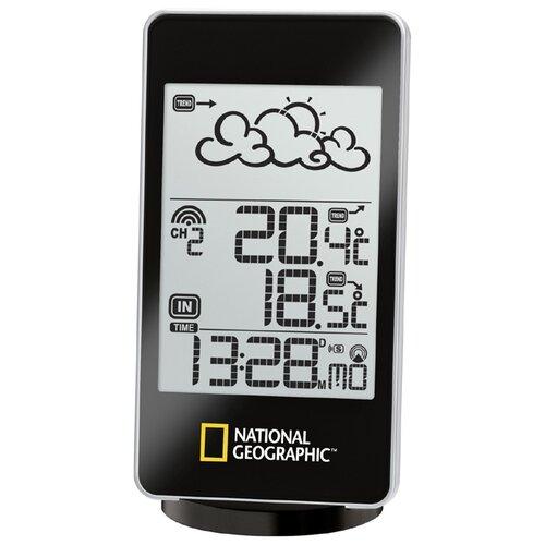 Метеостанция BRESSER National Geographic с одним экраном черный