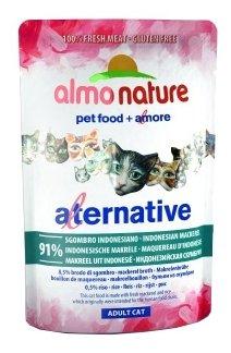 Корм для кошек Almo Nature Alternative Adult Cat Indonesian Mackerel
