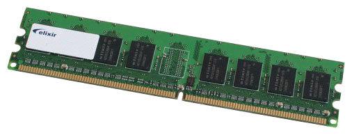 Оперативная память Elixir DDR2 533 DIMM 1Gb