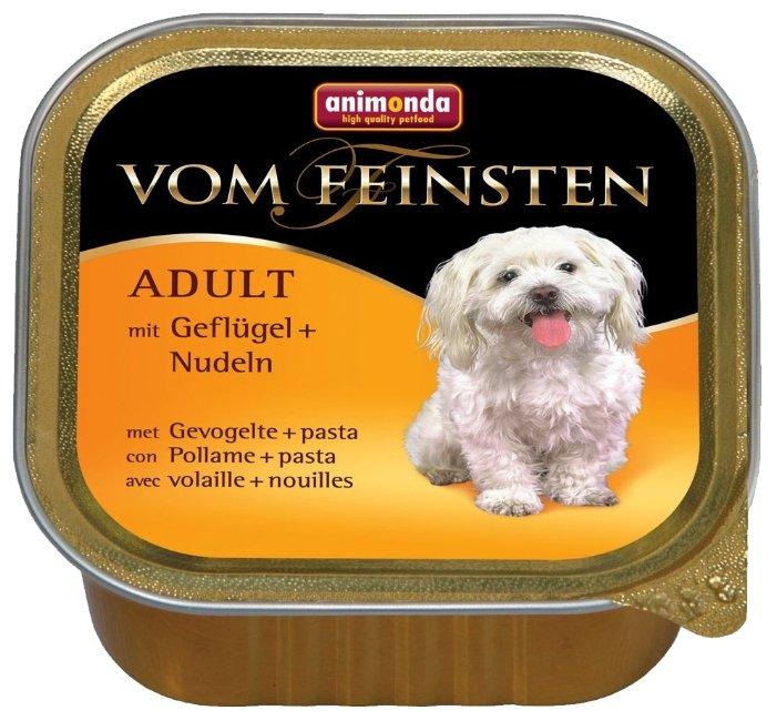 Корм для собак Animonda Vom Feinsten домашняя птица с пастой 150г