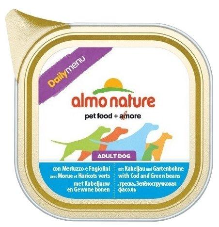 Корм для собак Almo Nature Daily Menu треска со стручковой фасолью