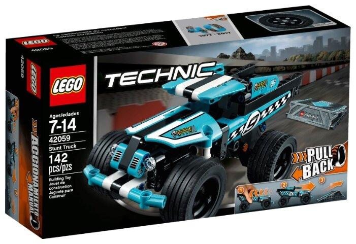 Классический конструктор LEGO Technic 42059 Трюковый грузовик
