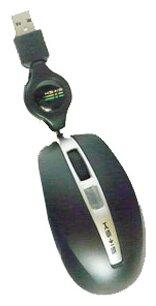 Мышь KS-is KS-014 Black-Silver USB