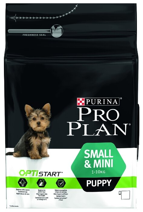 Purina Pro Plan (3 кг) Small & Mini Puppy сanine Chicken with Rice dry