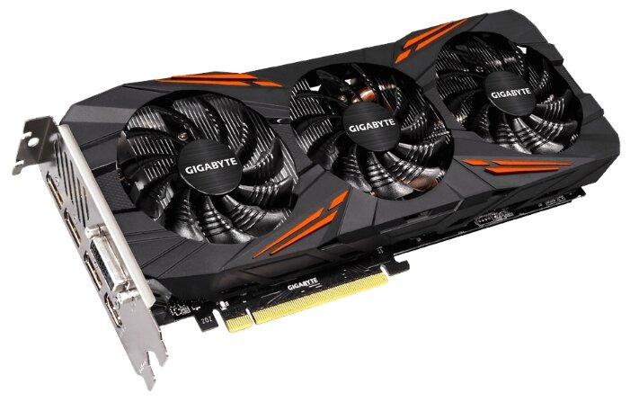 Видеокарта GIGABYTE GeForce GTX 1080 1721MHz PCI-E 3.0 8192MB 10010MHz 256 bit DVI HDMI HDCP