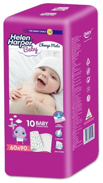 Одноразовые пеленки Helen Harper Baby 60x90