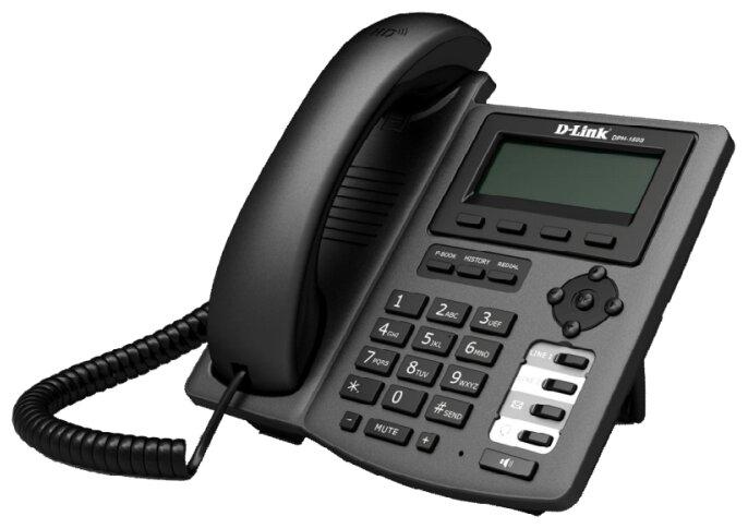 IP - телефон D-Link DPH-400GE/F1A IP-телефон с 1 WAN-портом 10/100/1000Base-T, 1 LAN-портом 10/100/1000Base-T и поддержкой PoE