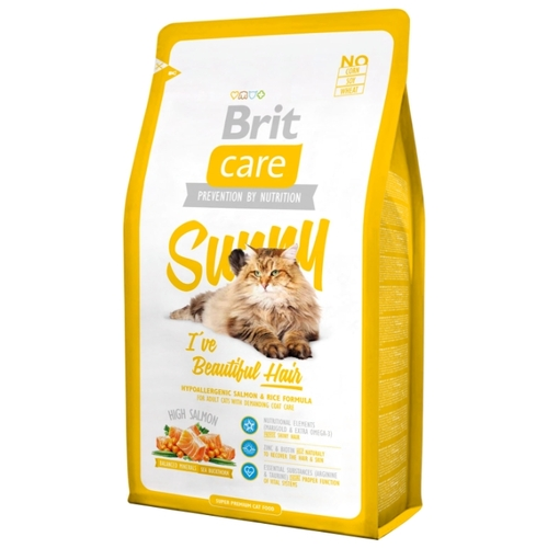 Корм для кошек Brit Care Sunny I've Beautiful Hair (0.4 кг)