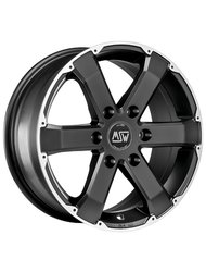 Колесный диск MSW 46 7.5/17 6*114,3 ET30 DIA66.1 Matt Black Full Polished - фото 1