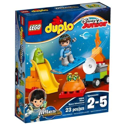 Купить Конструктор LEGO DUPLO 10824 Космические приключения Майлза, Конструкторы