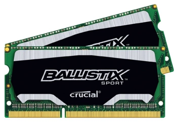 Ballistix Оперативная память Ballistix BLS2C4G3N18AES4CEU