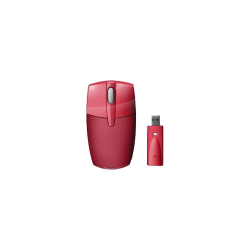 Мышь Belkin Wireless Travel Red USB
