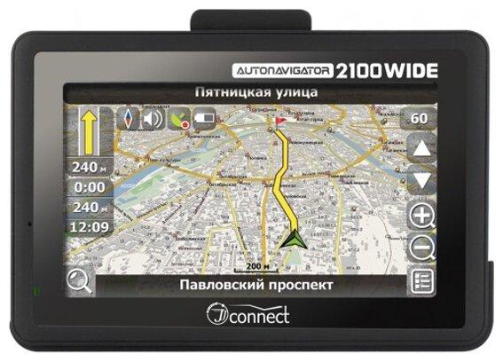 Навигатор JJ-Connect AutoNavigator 2100 WIDE