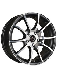 Диски Racing Wheels H-470 7,0x16 5x115 D70.3 ET40 цвет BK/FP - фото 1