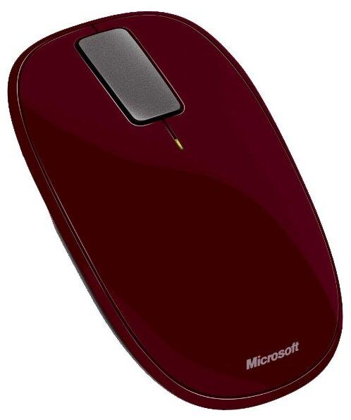Мышь Microsoft Wireless Explorer Touch Mouse Sangria Red USB