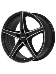 Диск Alutec Raptr Racing Black Front Polished 8x18/5x114.3 D70.1 ET45 - фото 1