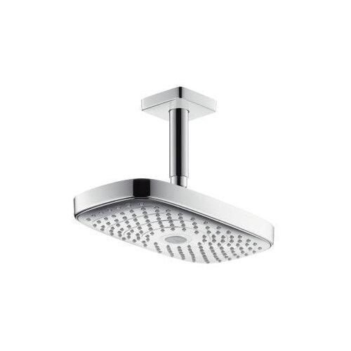 Верхний душ встраиваемый hansgrohe Raindance Select E 300 2jet 27384000 хром верхний душ hansgrohe 27384000