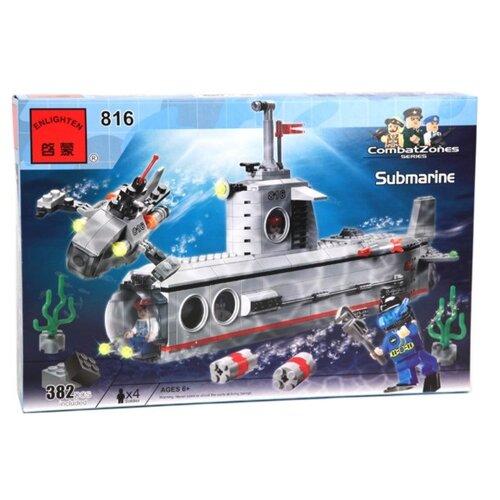 Конструктор Qman CombatZones 816 Субмарина