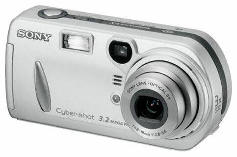 Шлейф Sony DSC-P72