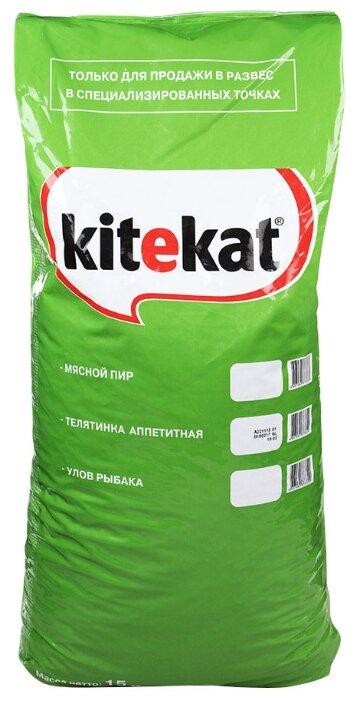 Kitekat Сухой корм Телятинка Аппетитная (15 кг)