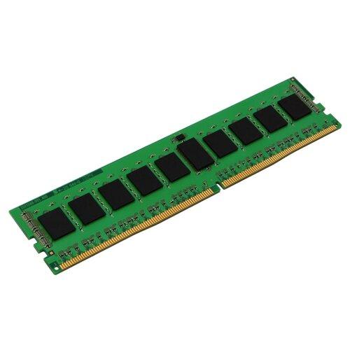 Оперативная память Kingston ValueRAM DDR4 2400 (PC 19200) DIMM 288 pin, 4 GB 1 шт. 1.2 В, CL 17, KVR24E17S8/4 оперативная память kingston valueram ddr4 2400 pc 19200 sodimm 260 pin 8 гб 1 шт 1 2 в cl 17 kvr24s17s8 8