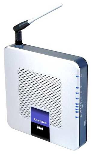 Wi-Fi роутер Linksys WRTP54G