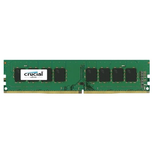 Оперативная память Crucial DDR4 2400 (PC 19200) DIMM 288 pin, 8 ГБ 1 шт. 1.2 В, CL 17, CT8G4DFS824A