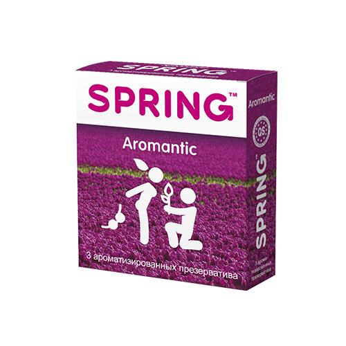 Презервативы Spring Aromantic 3 шт.Презервативы<br>