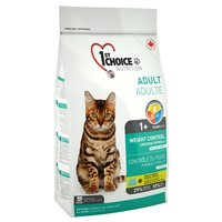 1st Choice WEIGHT CONTROL for ADULT CATS (5.44 кг)