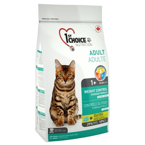 1st Choice (0.35 кг) WEIGHT CONTROL for ADULT CATS Корма для кошек
