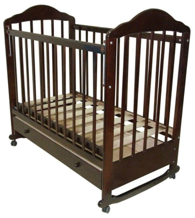 Кроватка Мой малыш 7 (колесо-качалка)