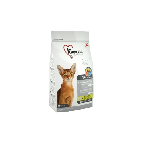 1st Choice (0.35 кг) HYPOALLERGENIC for ADULT CATS Лечебные корма