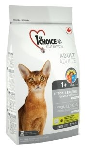 1st Choice (5.44 кг) HYPOALLERGENIC for ADULT CATS