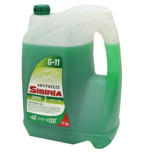 Антифриз SIBIRIA Антифриз -40 Зеленый 10 кг.