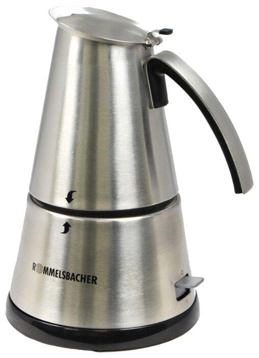 Гейзерная кофеварка Rommelsbacher EKО 366/E