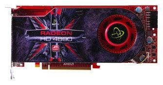 XFX Radeon HD 4890 850Mhz PCI-E 2.0 1024Mb 3900Mhz 256 bit 2xDVI TV HDCP YPrPb
