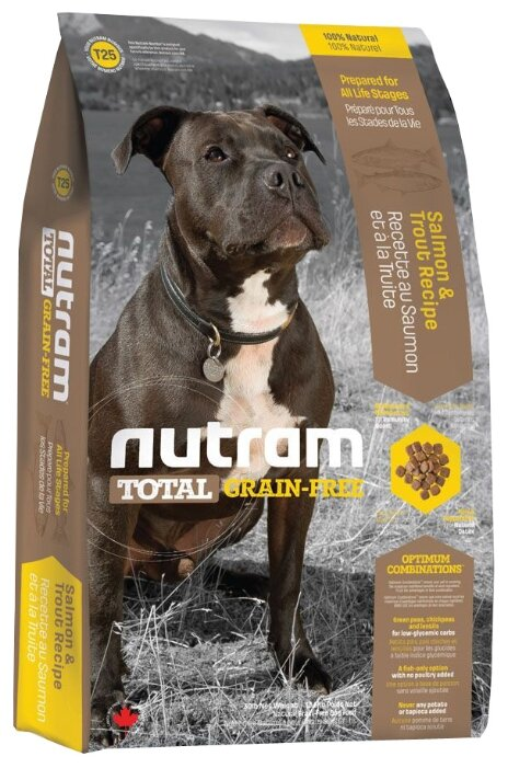 Корм для собак Nutram T25 Лосось и форель для собак
