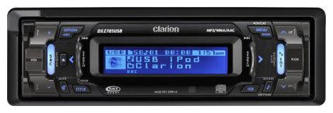 Clarion DXZ785USB
