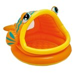 Детский бассейн Intex Lazy Fish Shade Baby 57109