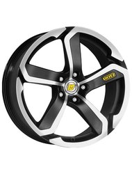 Диск Dotz Hanzo 8.0x17/5x114.3 D71.6 ET35 Black Matt/polished - фото 1