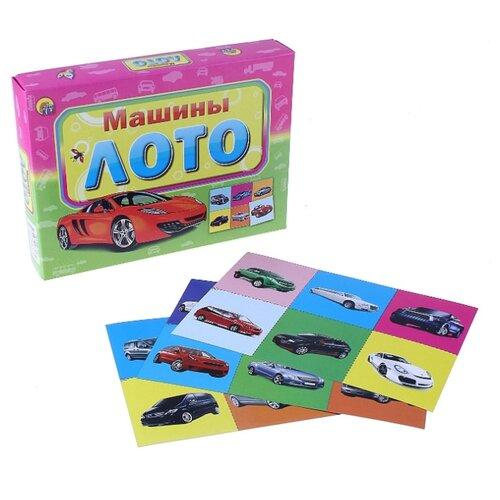 Купить Настольная игра Рыжий кот Машины ИН-7447, Настольные игры