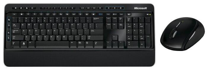 Microsoft Wireless Desktop 3050 Balck USB