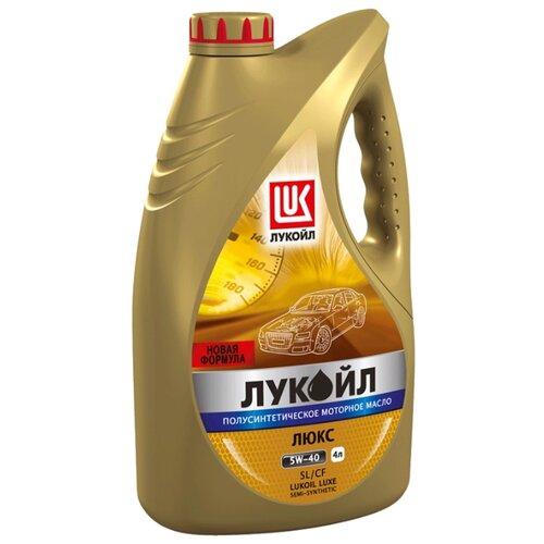 Моторное масло ЛУКОЙЛ Люкс полусинтетическое SL/CF 5W-30 4 л моторное масло лукойл люкс полусинтетическое sl cf 10w 40 1 л