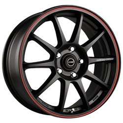 Колесные диски Racing Wheels H-422 7x17/5x112 D66.6 ET40 BK-LRD