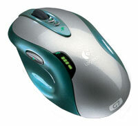 Мышь Logitech G7 Laser Cordless Mouse Green USB