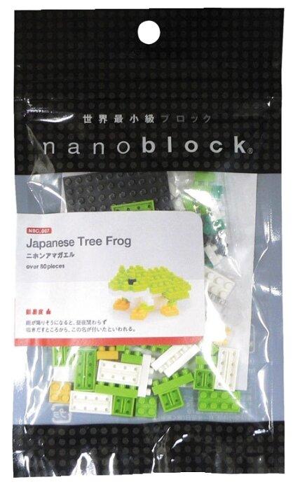 Конструктор Nanoblock Miniature NBC-007 Японская древесная лягушка