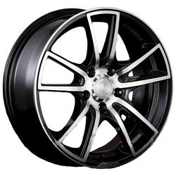 Колесные диски Racing Wheels H-411 7x17/5x115 D70.3 ET40 BK F/P