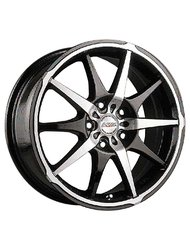 Racing Wheels H-415 6.5x15 4x98 ET 40 Dia 58.6 BK F/P - фото 1