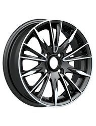 NZ Wheels F-35 6.5x16 5x114.3 ET 46 Dia 67.1 BKF - фото 1