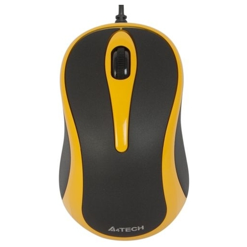 Мышь A4Tech Q3-350-3 Black-Yellow USB